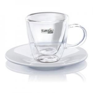 Чашка + блюдце Caffitaly для Эспрессо 2 шт.